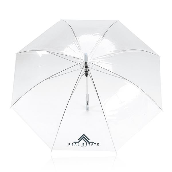 POE automatic umbrella, with plastic handle