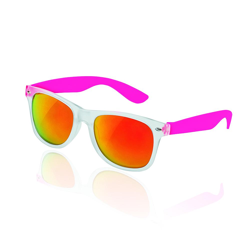 Okulary UV400, szkła z efektem lustrzanym