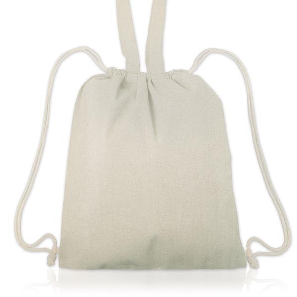 Plecak bawełniany z uchwytami